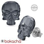 Текстилна маска за многократна употреба с камуфлажен дизайн и обеци, Код: Q003