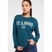 Спортна блуза TWINTIP, тип суитшърт, Размер M, Код BL0122