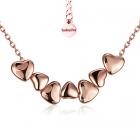 Колие ПАРИЖ с 18К Розово Злато, Zerga Brand, 18KG N01512