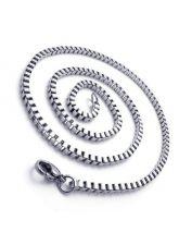 Ланец от стомана унисекс СТИЛ КУАДРО, код 316L N100