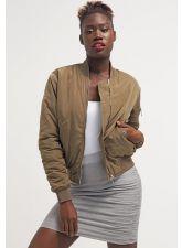 Модерно дамско яке BIK BOK в милитъри стил, цвят каки, Размер M, Код JA901