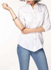 Нежна риза DOROTHY PERKINS в цвят крем, Размер S, Код BL422