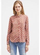 Привлекателна риза ONLY на нежни сърца в цвят пепел от рози, Размер M,  Код BL444