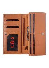 Портфейл Естествена Кожа САН ЛЕО, FLORENCE, кафяв цвят, Код FL PF0544