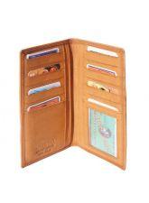 Портфейл Естествена Кожа ФАВИНО, FLORENCE, кафяв цвят, Код FL PF23527