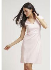Нежна рокля ST EMILE в нежен розов цвят, Размер M, Код DD502