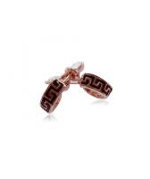 Обеци РЕЯ с 18К Розово Злато, Колекция Zerga Brand, Код 18KG E301