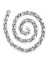 Ланец от стомана СРЕБЪРНО ВЕРСАЧЕ, код 316L N020-6мм