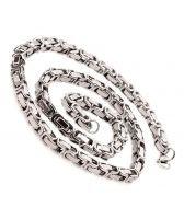 Мъжки ланец от стомана ЮПИТЕР СИЛВЪР 9mm, код 316L N041