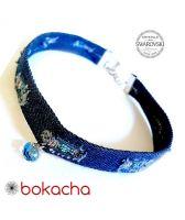 Чоукър колие Charming Choker Swarovski® RIVOLI 8мм Aquamarine AB - Светло син, Код PR N519