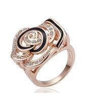 18KG R08792 Дамски пръстен КРАСИВА РОЗА от Zerga Brand
