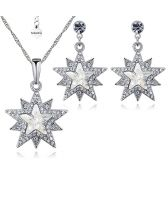 Бижута ASTRA, Колие и Обеци със SWAROVSKI® Crystals, Zerga Brand, ZG S553