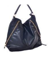 Чанта дамска ОКТАВИЯ, ZYRDA колекция, еко кожа черна, Код ZY D005
