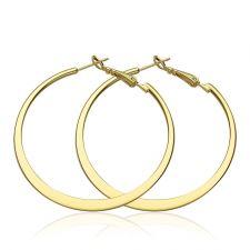 Обeци ХАЛКА СТИЛ, 18К жълто злато, колекция Zerga Brand, Код 18KG E91419-A