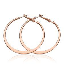 Обeци ХАЛКА СТИЛ, 18К розово злато, колекция Zerga Brand, Код 18KG E91419-B