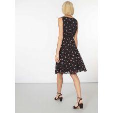 Феерична рокля DOROTHY PERKINS с цветни мотиви, Размер L, Код DD0122