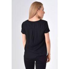 Елегантна дамска тениска VILA с къс ръкав, Размер L, Код BL418