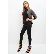 Тесни дънки NEW LOOK в черно, Размер XL, Код JJ0008