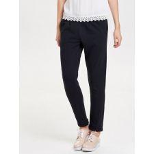 Ежедневен панталон JAQUELINE de YONG в черен цвят, Размер S, Код TT415