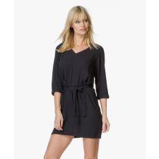 Елегантна дамска рокля AMERICAN VINTAGE в черно, Размер S, Код DD0140