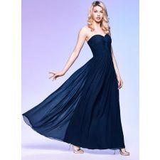 Бална рокля LAONA тъмно син цвят, Код DD0021-LA