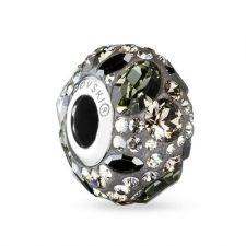 Обеци с талисман БЛЯСЪК В НОЩТА, Swarovski® Pave Beads, Код PR E566