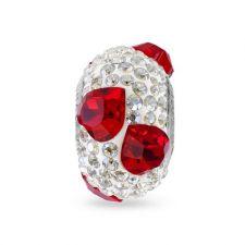 Талисман МОЯ ЛЮБОВ от Swarovski® Pave Beads, Код PR V001