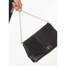 Чанта Dorothy Perkins в стилен черен цвят, Код F180