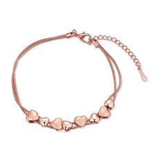 Гривна ПАРИЖ с 18К Розово Злато, Zerga Jewelry, Код 18KG B02121