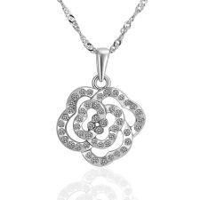 Колие КРИСТАЛНО ЦВЕТЕ, бижута Zerga Jewelry, 18KG N43633