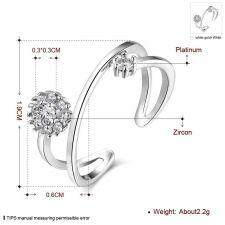 Пръстен СИЛУЕТ, Zerga Brand, Код 18KG R02022-B