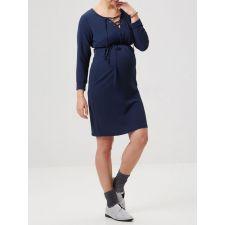 Тъмно синя рокля MAMA LICIOUS подходяща за бременни, Код DD0015-ML