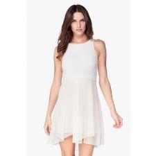 Дамска рокля BCBG, кремав цвят, Размер XS, Код DD0079