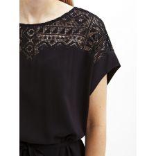 Ежедневна дамска рокля OBJECT в черно, Код DD0300