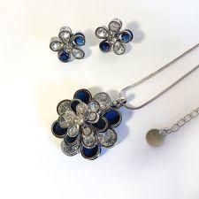 Бижута ИДА, Колие и Обеци с Austrian crystals, Код 316L S241