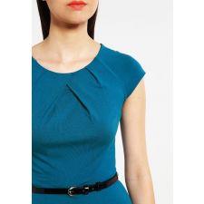 Дамска рокля ANNA FIELD с плохи на деколтето, Размер M, Код DD0081-M