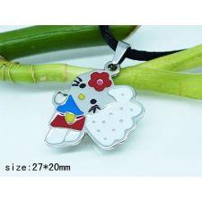 Бижута за деца HELLO KITTY, медальон, медицинска стомана, 316L P203