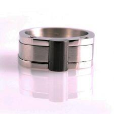 Мъжки пръстен ЦЕЗАР, стомана 316L, 316L R019
