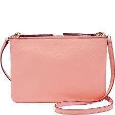 Дамска чанта FOSSIL, цвят праскова, Код F141