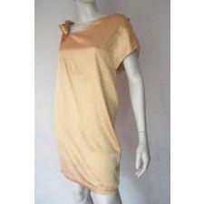 Нежна рокля SUPERTRASH в цвят шампанско, Размер XXL, Код DD503