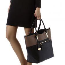Луксозна Чанта Carvela в елегантен черен цвят, Код F611
