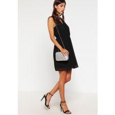 Привлекателна рокля VERO MODA с бляскави кристали в черен цвят, Размер L, Код DD0128-1