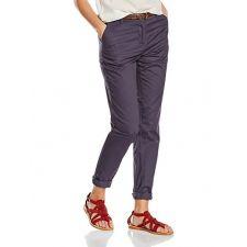 Оригинален панталон NEW LOOK в мастилено синьо с колан с орнаменти, Размер S, Код TT0003