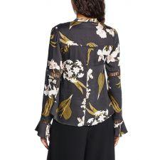 Дамска блуза SOME DAYS с флорални мотиви, Размер L, Код BL0066