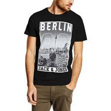 Ефектна блуза JACK & JONES с къс ръкав, Размер L, Код BL331