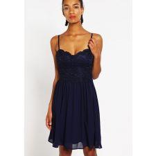 Луксозна рокля YOUNG COUTURE тъмно син цвят, Код DD0018-YC