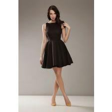 Елегантна дамска рокля NIFE в черно, Размер S, Код DD0142