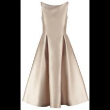 Официална разкроена рокля ADRIANNA PAPELL цвят шампанско, Размер XS/S, Код DD0121