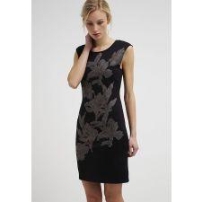 Дамска рокля ANNA FIELD с бляскави флорални мотиви, Размер L/XL, Код DD0087