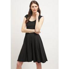 Черна рокля ANNA FIELD с колан, Код DD0002-M